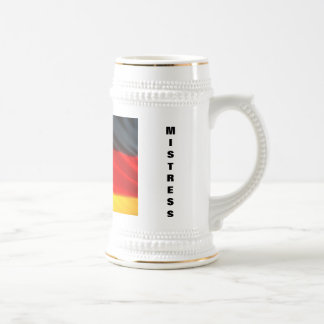 GERMAN MISTRESS BEER STEIN