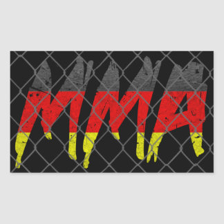 German MMA Sticker