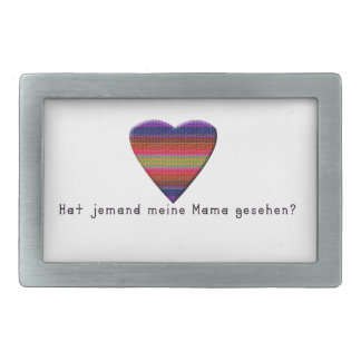 German -Mommy Belt Buckles