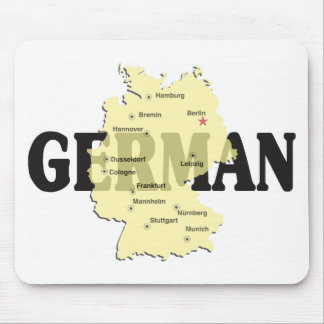 German Mousepad