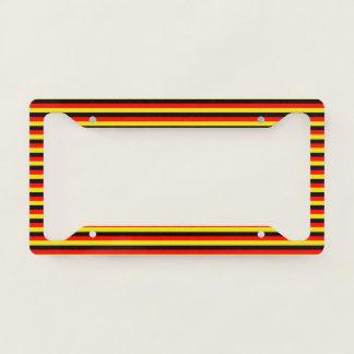 German National Flag Licence Plate Frame
