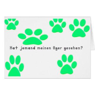 German -Ogre Card