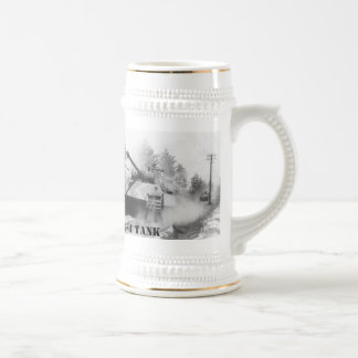 GERMAN PANTHER G-4 TANK BEER STEIN