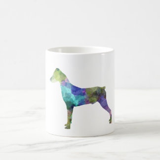 German Pinscher 01 in watercolor Coffee Mug
