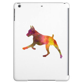 German Pinscher 02 in watercolor Case For iPad Air