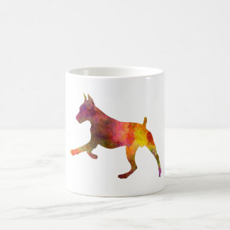 German Pinscher 02 in watercolor Coffee Mug