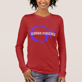 German Pinscher Breed Monogram Long Sleeve T-Shirt