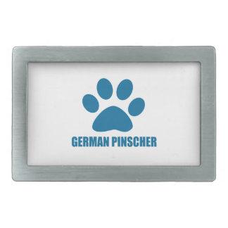 GERMAN PINSCHER DOG DESIGNS BELT BUCKLE