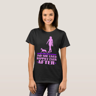 German Pinscher Dog She Lived Happily Ever After T-Shirt