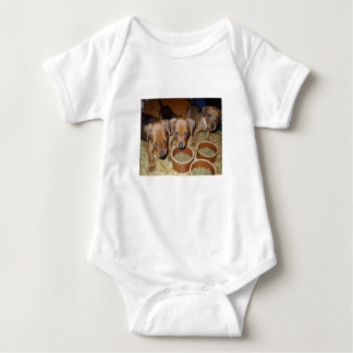 german Pinscher_puppies Baby Bodysuit