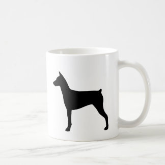 German Pinscher Silhouettes Coffee Mug