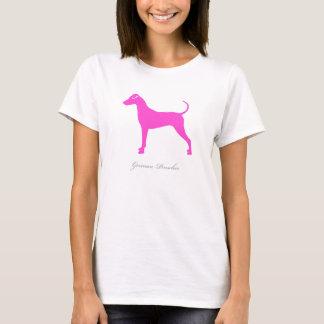 German Pinscher T-shirt (pink natural version)
