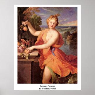 German Pomona By Nicolas Fouche Poster
