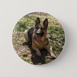 german shepard 2 inch round button