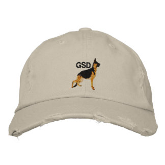 German Shepard (GSD) Embroidered Cap