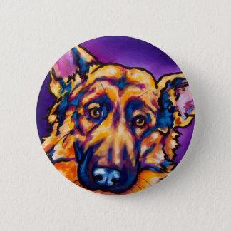 German Shepherd 2 Inch Round Button