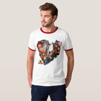 German Shepherd 4th of July T-Shirt
