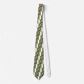 German Shepherd Adult T-Shirt Tie