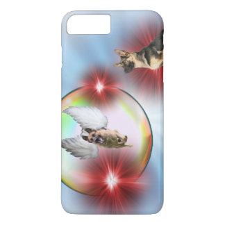 German Shepherd Angel Flying iPhone 8 Plus/7 Plus Case