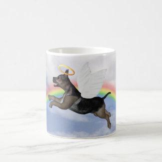 German Shepherd Angel Pup Coffee Mug