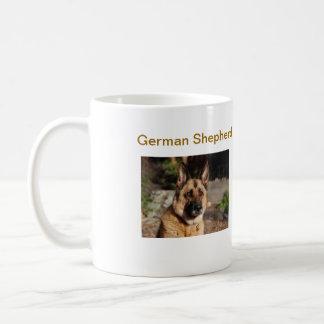 German Shepherd Basic White Mug