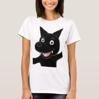 german shepherd bi colored waving T-Shirt