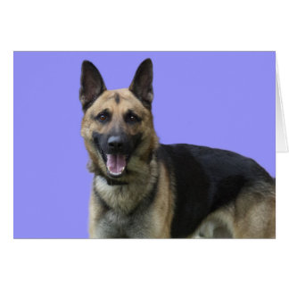German Shepherd Birthday by Focus for a Cause Card