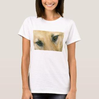 german-shepherd-black and cream eyes T-Shirt