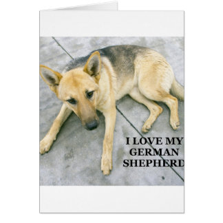 german-shepherd-black and cream love w pic card
