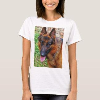 german-shepherd-black and red 2 T-Shirt