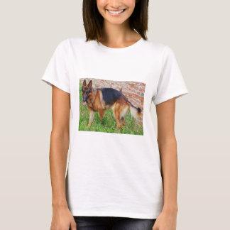 german-shepherd-black and red full T-Shirt