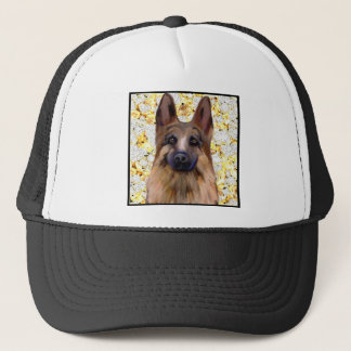 German Shepherd Bling Trucker Hat