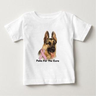 German Shepherd Breast Cancer Toddler Unisex Shirt