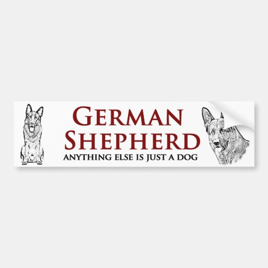 German Shepherd - Bumper Sticker