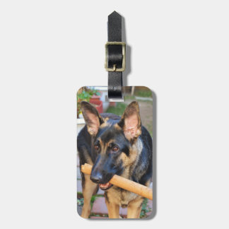 German Shepherd by Shirley Taylor Bag Tag