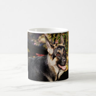 German Shepherd by Shirley Taylor Coffee Mug