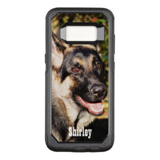 German Shepherd by Shirley Taylor OtterBox Commuter Samsung Galaxy S8 Case