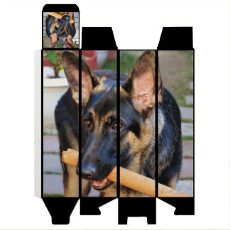 German Shepherd by Shirley Taylor Wine Bottle Boxes