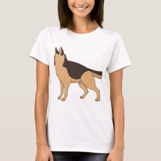 german shepherd cartoon 2 T-Shirt