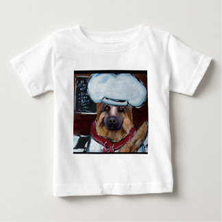 German Shepherd Chef Baby T-Shirt
