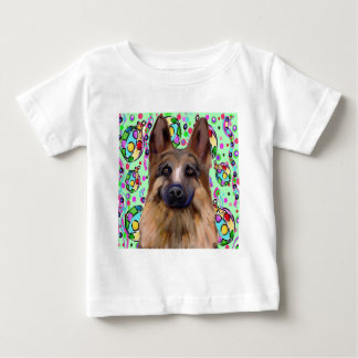 German Shepherd Christmas Baby T-Shirt