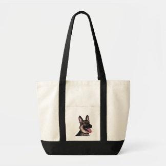 German Shepherd Collection Impulse Tote Bag