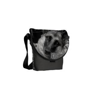 German Shepherd Courier Bags