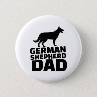 German shepherd Dad 2 Inch Round Button