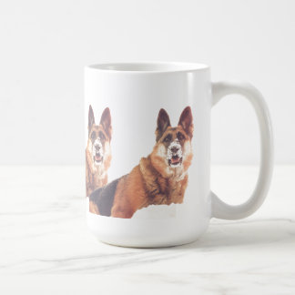 German Shepherd Dad Coffee Mug