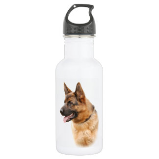 German shepherd dog 532 ml water bottle