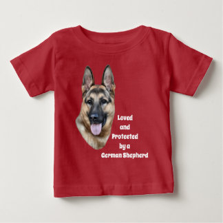 German Shepherd Dog Baby T-Shirt