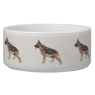 German Shepherd Dog Bowl