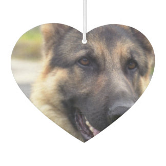 German Shepherd Dog Car Air Freshener