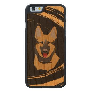 German Shepherd Dog Carved® Cherry iPhone 6 Slim Case